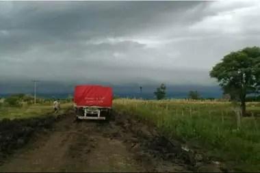 Productores de Crespo piden por el estado de los caminos rurales