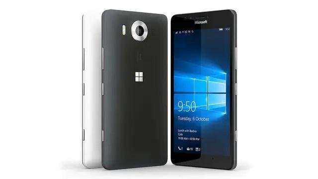 El Lumia 950 tiene una pantalla de 5,2 pulgadas; el 950XL, de 5,7 pulgadas; el resto del hardware es muy similar.