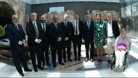 Renzi, Macri y gobernadores en el museo del Bicentenario