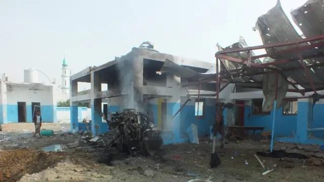 Bombardeo a hospital de Médicos Sin Fronteras en Yemen: al menos 7 muertos y varios heridos graves