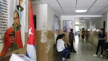En este centro médico de Guanta, en el que trabajan médicos cubanos, no hay antibióticos para responder a las infecciones respiratorias