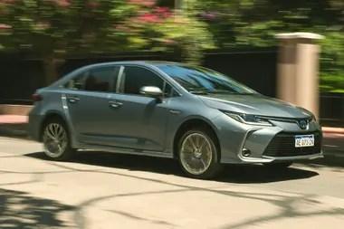 El Toyota Corolla Hybrid es el vehículo eléctrico más vendido en la Argentina: en 2020, se patentaron 884 unidades