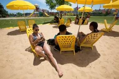 Las instalaciones con arena, las elegidas por los adultos