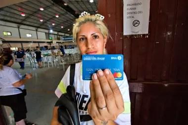 La entrega de las tarjetas alimentarias se hizo a través del correo para evitar los riesgos de contagio del coronavirus