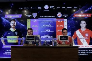 Alexis, en Boca, y Francis, en Argentinos, se enfrentan por el liderazgo del torneo