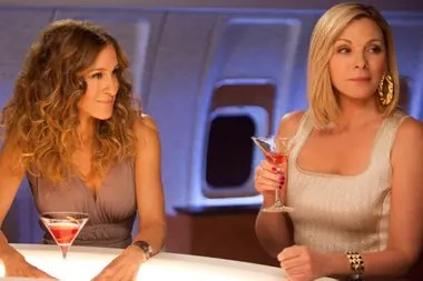 Sarah Jessica Parker y Kim Cattrall,