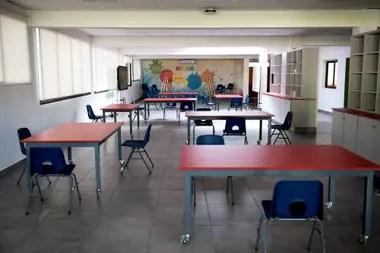 En el colegio Michael Ham están ya realizando modificaciones en las aulas