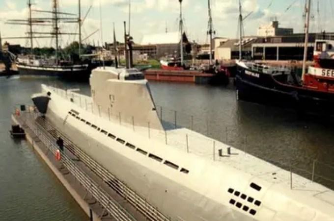 Se trata del submarino U-3523 tipo XXI, que fue hundido el 6 de mayo de 1945