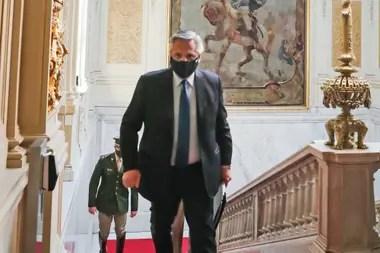 El presidente, Alberto Fernández