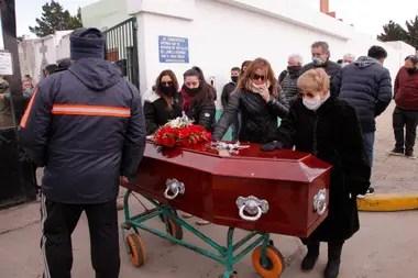 Fabián Gutiérrez fue sepultado la semana pasada, más de un mes después de su asesinato