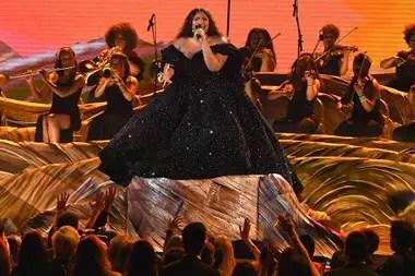 Lizzo, en los Grammy