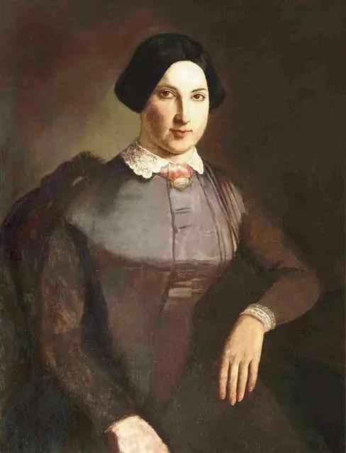 Retrato de Magdalena Costa Ituarte (1851), Prilidiano Pueyrredón