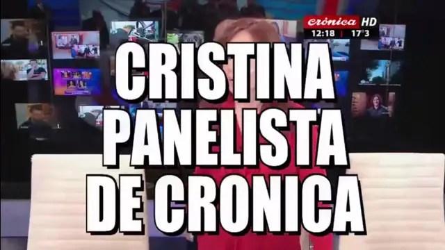 Resultado de imagen para cristina kirchner cronica