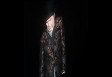 El momento previo a la caída del cantante español