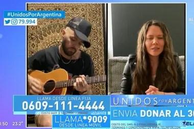 Los mexicanos Jesse y Joy también fueron parte del especial Unidos por Argentina