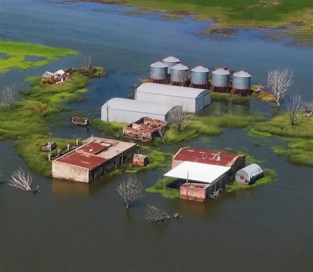 Más de 100.000 ha inundadas en Córdoba