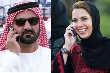 La sentencia de divorcio del matrimonio revela que, frente a la posible huida de la princesa, el emir la amenazó en dos ocasiones colocando pistolas sobre su almohada.