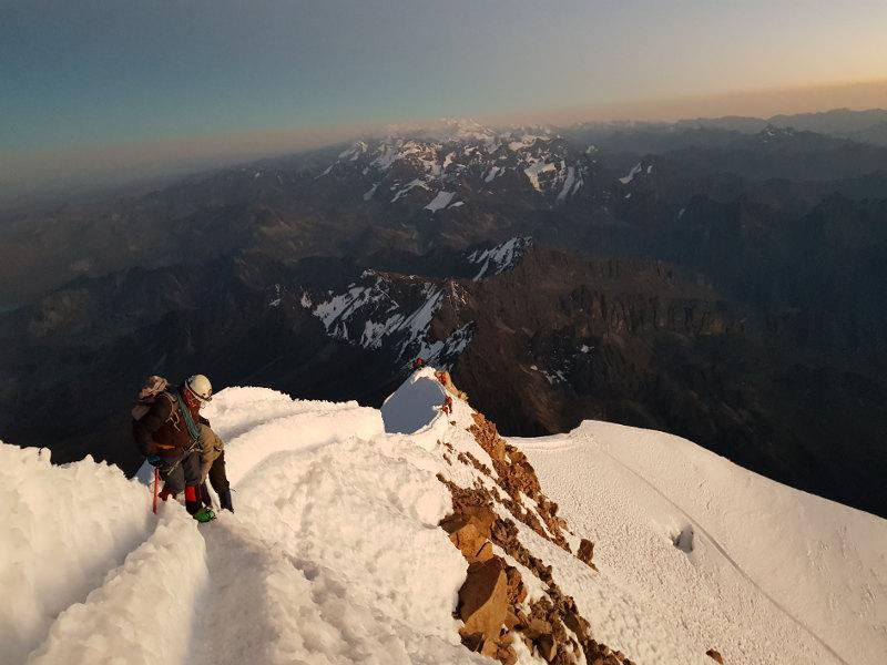 Ascension trekking Hayna Potosi Bolivie