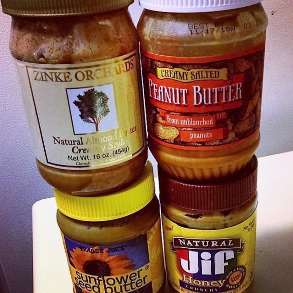 all the nut butters
