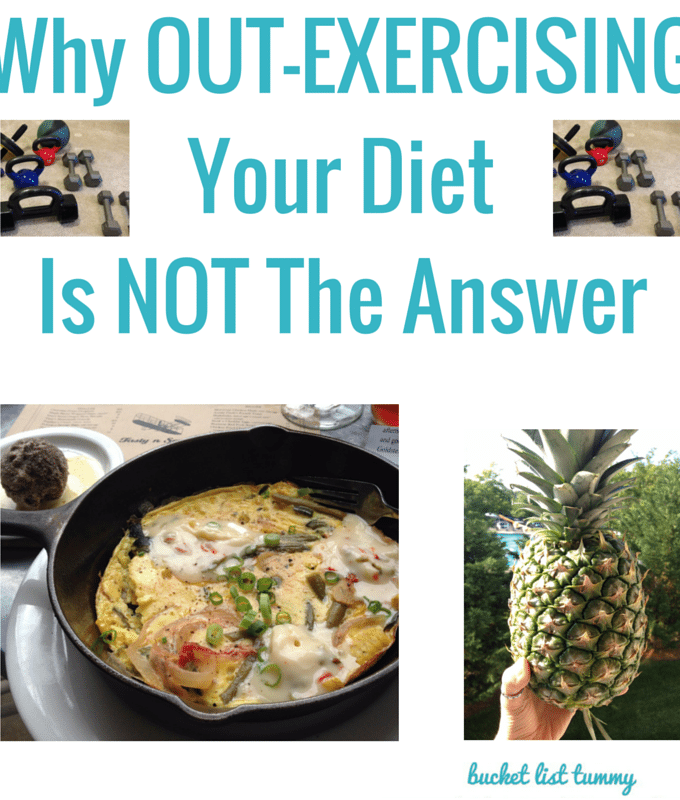 Why Out-Exercising Your Diet Isn't the Answer