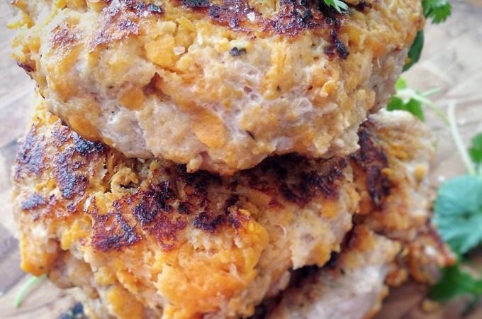 Easy Sweet Potato Turkey Burgers (Gluten Free)