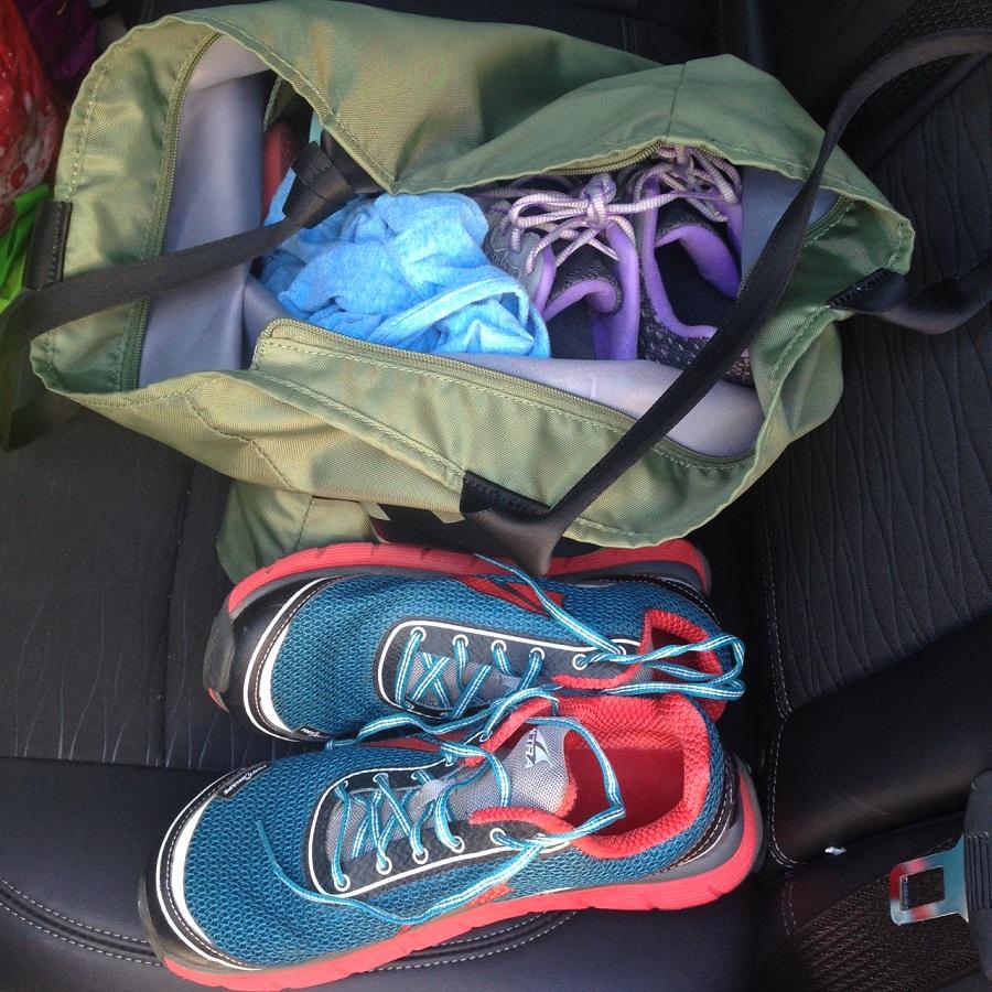 gym bag, movement