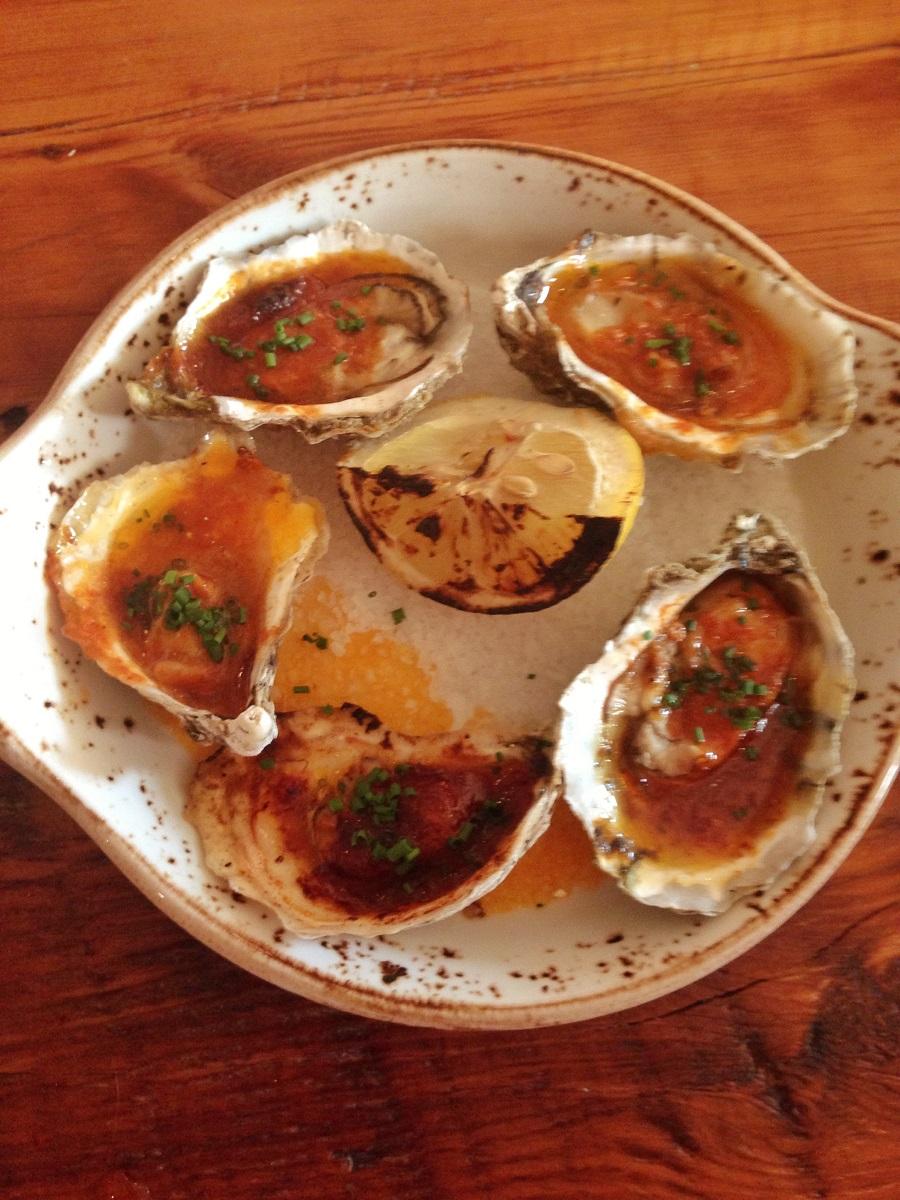 Rocksalt oysters