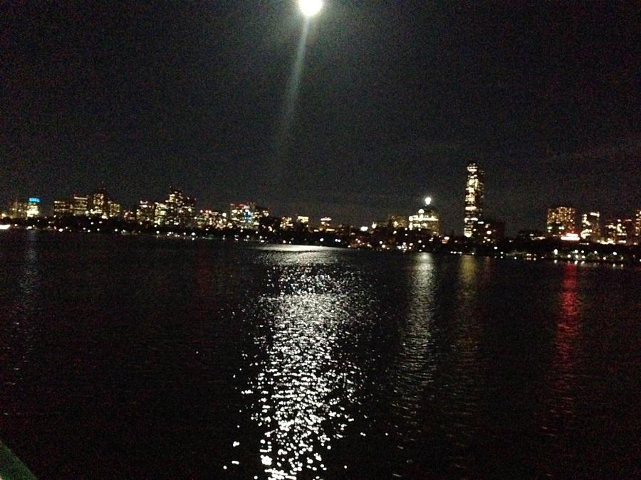 boston skyline, FNCE