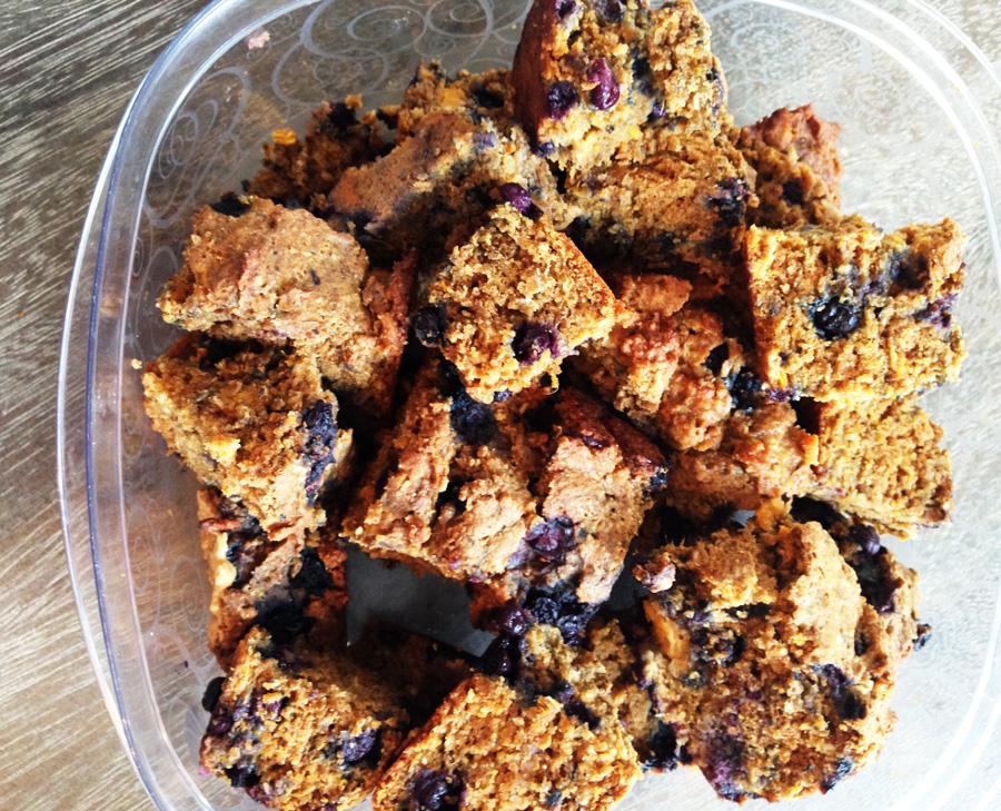 Wild Blueberries, Wild Blueberry Sweet Potato Bread, Fall Bread