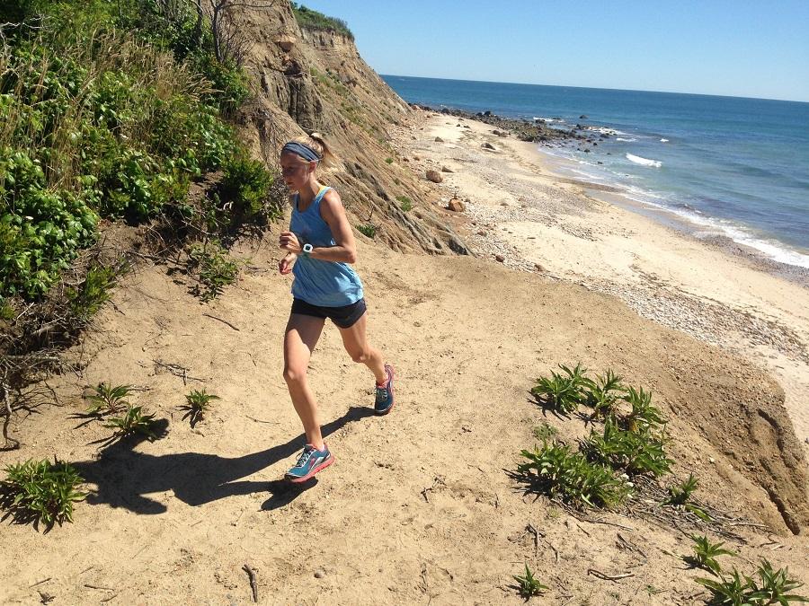 beach running BI