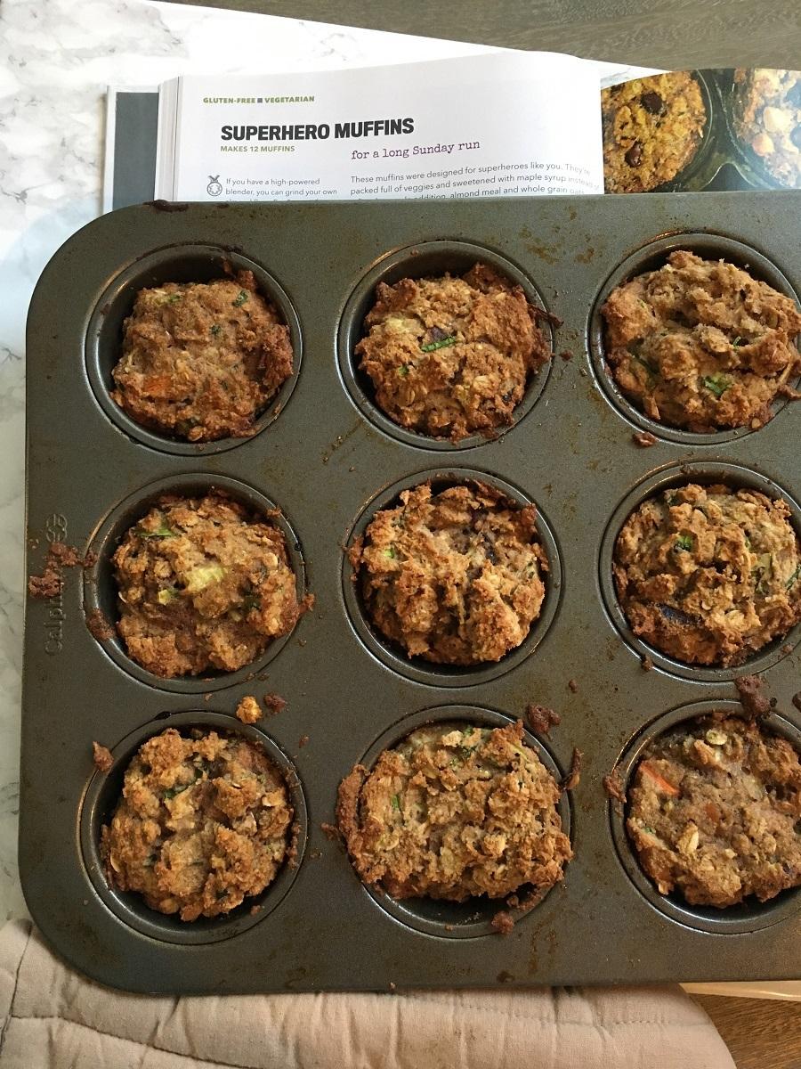 Superhero muffins