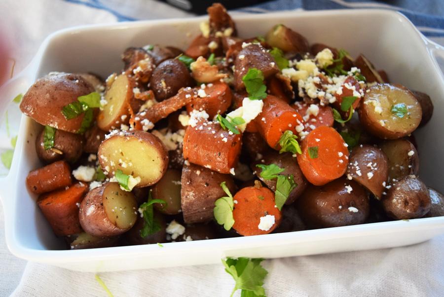 Crockpot Italian Potatoes