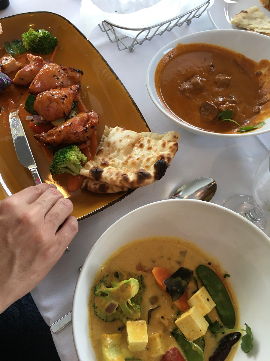 Copper Indian food