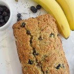 Banana Blueberry Chia Bread