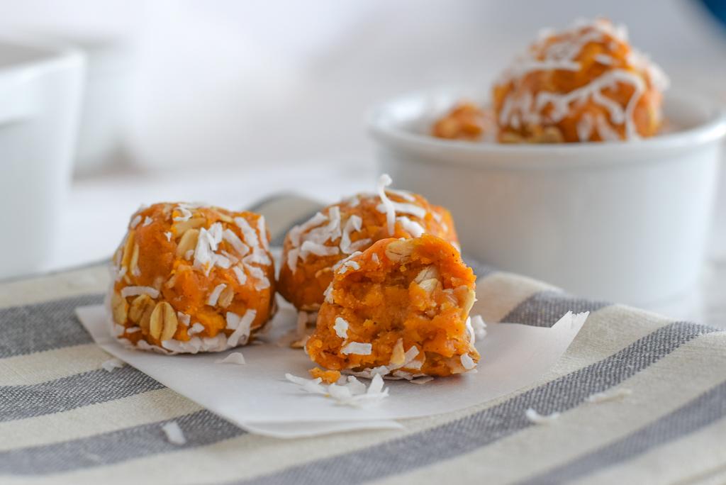 Sweet Potato Energy Bites | Pre Workout Snacks