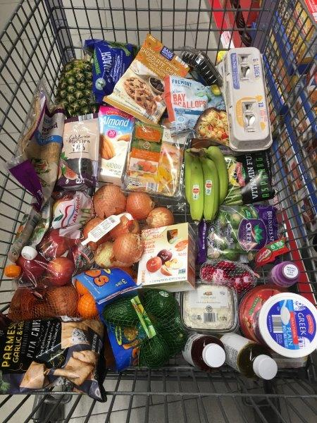 Aldi grocery cart