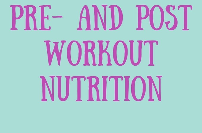 The Difference Between Pre and Post Workout Nutrition