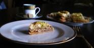Walnut pistachio baklava