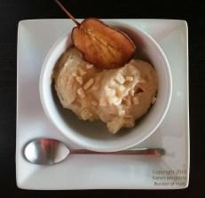 Roast Pear Sorbet