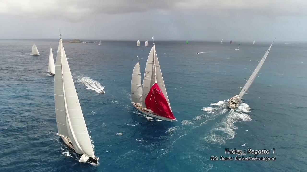 Highlights of the 2017 St Barths Bucket Regatta