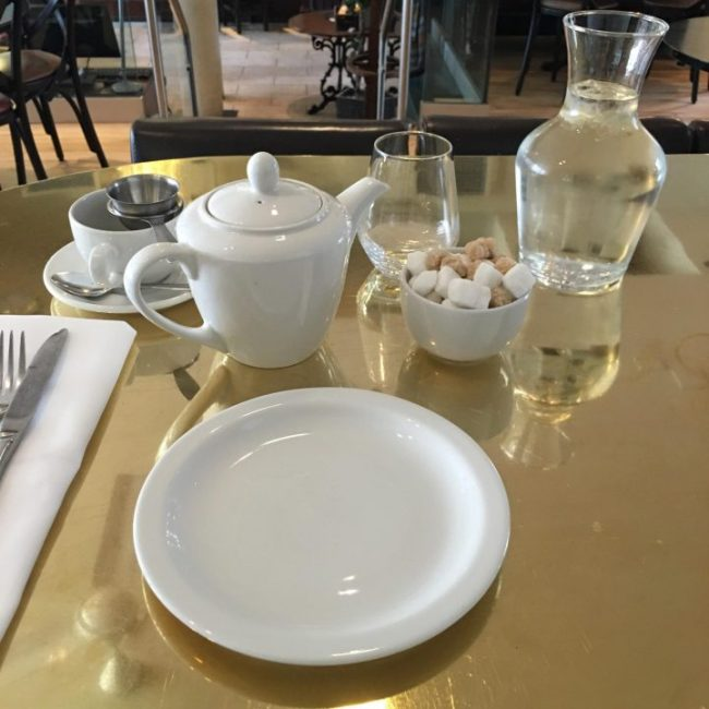 afternoon tea Browns Edinburgh