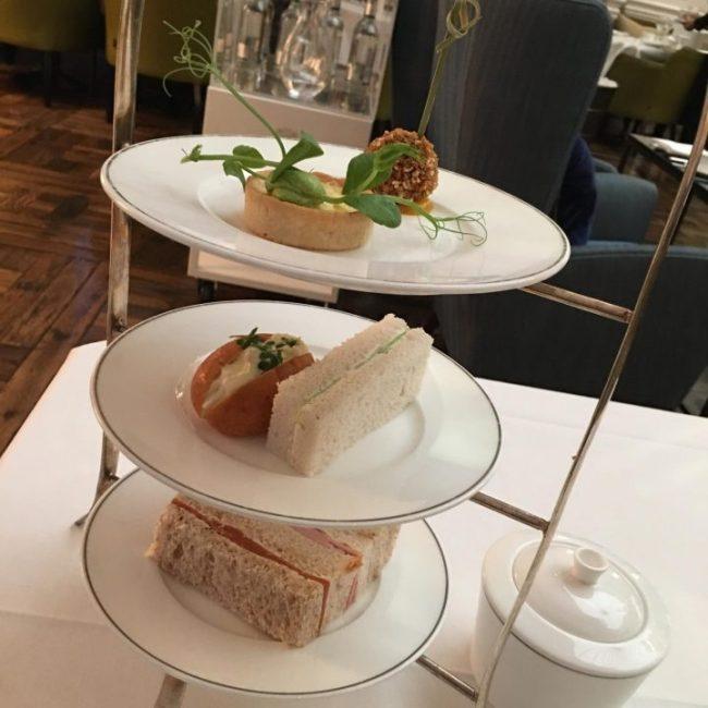 Afternoon tea Balmoral hotel edinburgh