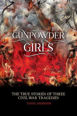Book Cover- Gunpowder Girls