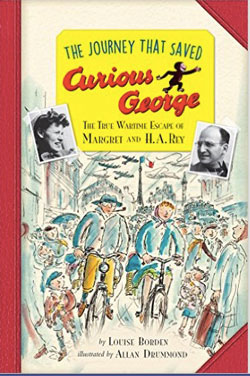 Book Cover- The Journey that Saved Curious George, Young Reader's Edition