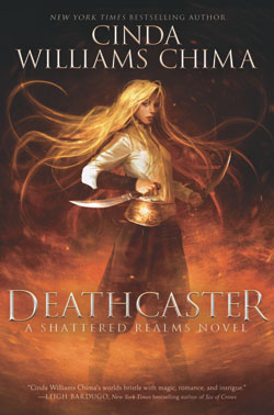 book cover Deathcaster