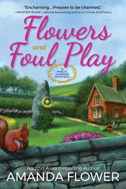 Book Cover- Flowers and Foul Play