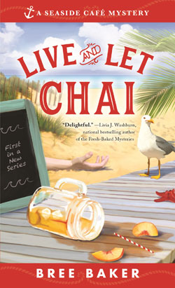 Book Cover-Live and Let Chai