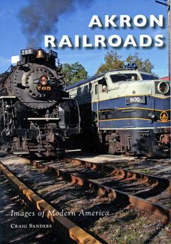 book cover Akron Railroads