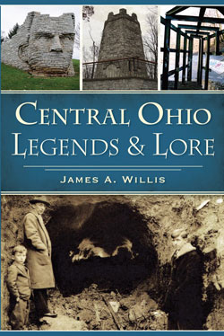 book cover Central Ohio Legends and Lore