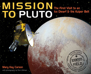 book cover Mission to Pluto